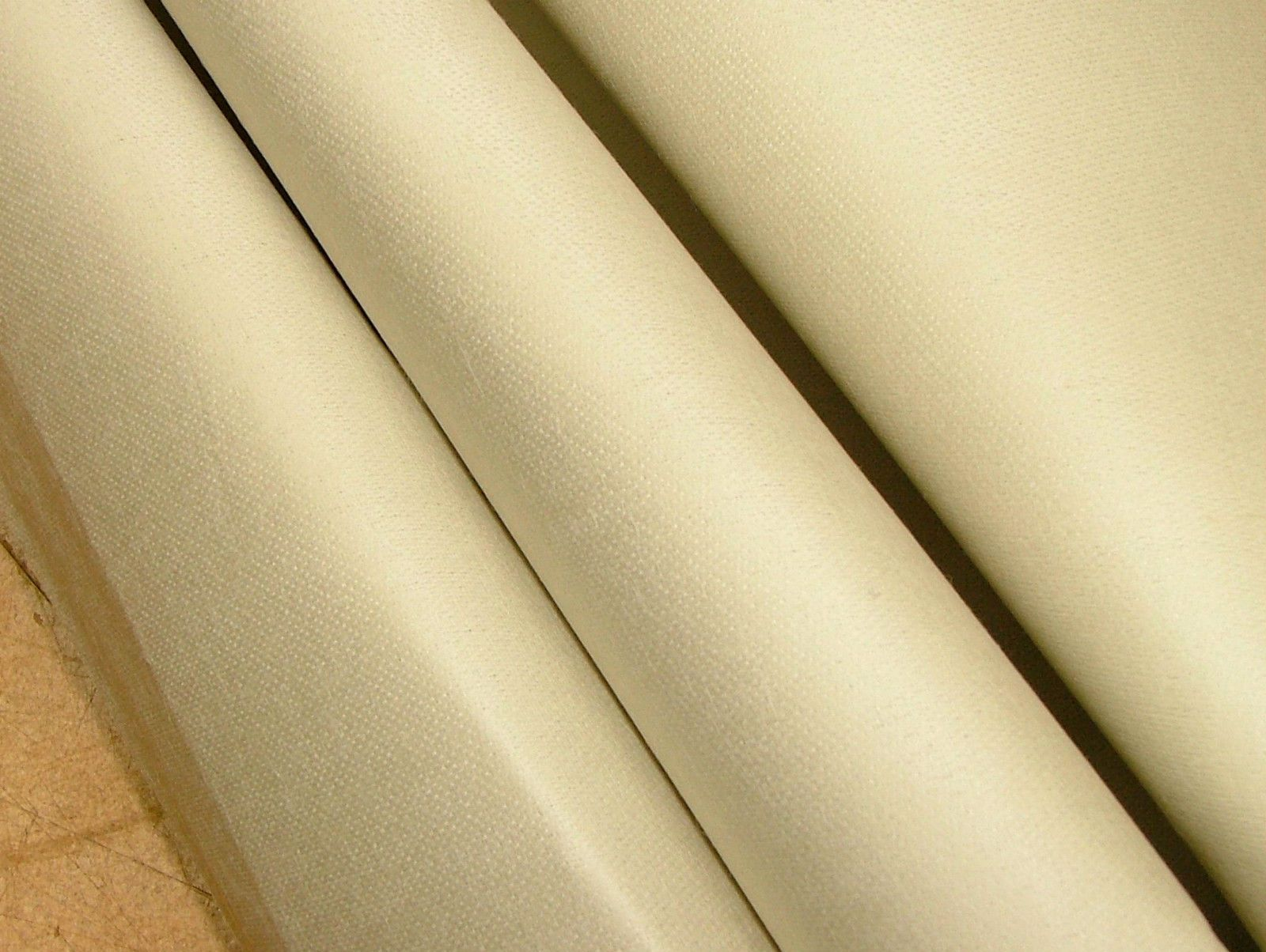 Elegant Laura Ashley 100% Cotton Sateen Natural Stone Premium Curtain Lining Fabric